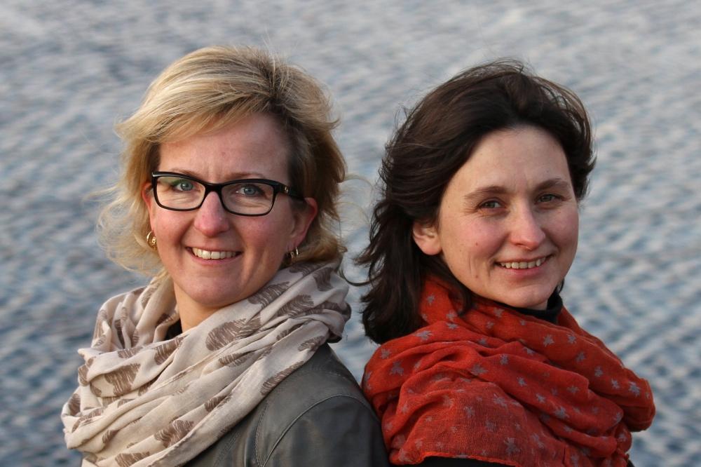 Anne Haga og Christine Hedin