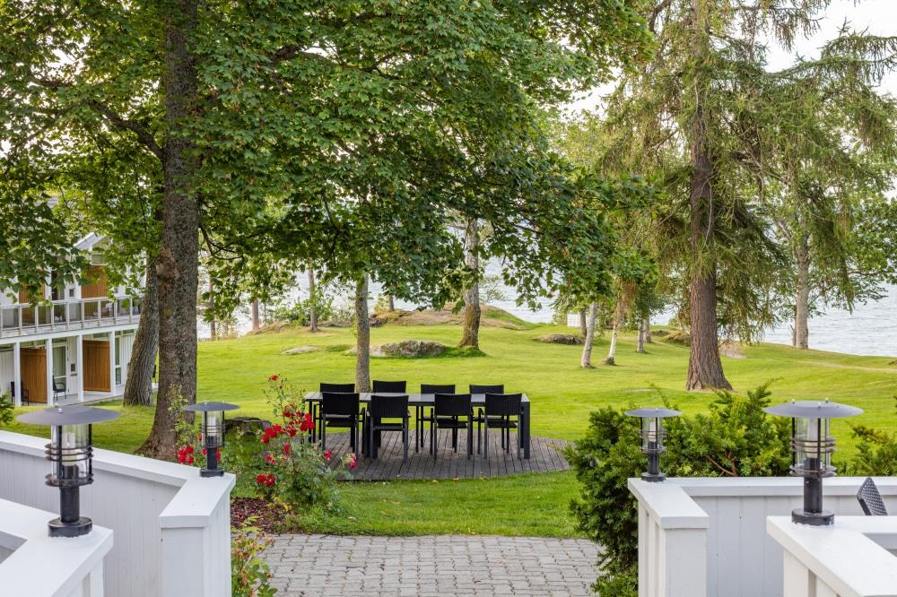 Jægtvolden Fjordhotell ligger idyllisk ved sjøen på Inderøy